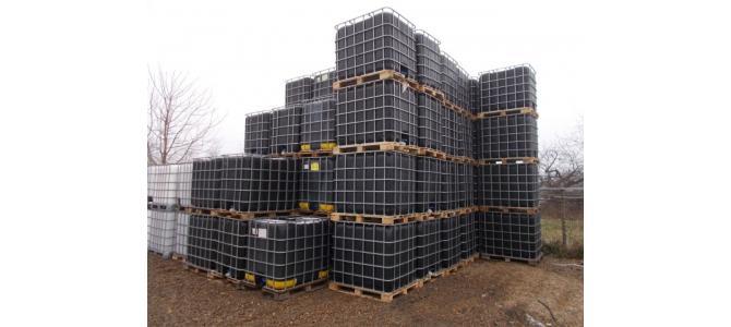 ibc container cub rezervor 1000 litri la Oradea, la 150 Lei