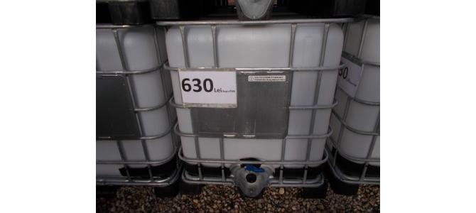 Ibc NOU 1000 litri la Oradea la 630 Lei+TVA, 2021,01