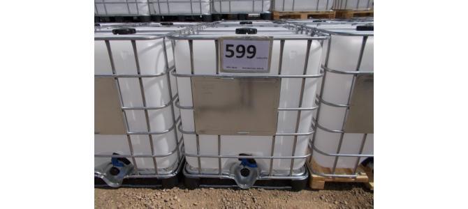 Ibc NOU 1000 litri  la 599 Lei+TVA, data fabric.:2021,01