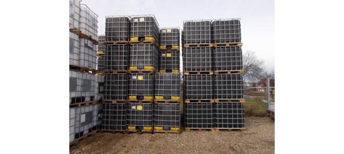 ibc container cub 1000 litri la Oradea, la 150 Lei