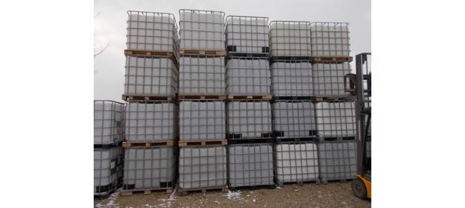 Container cub rezervor ibc 300 lei