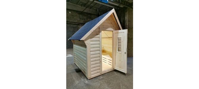 Mini casuta casa mobila de vacanta din lemn