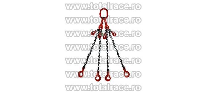 Dispozitive de ridicare din lant cu 4 brate