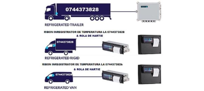 Cartus tusat si Rola hartie  THERMO KING, DATACOLD CARRIER
