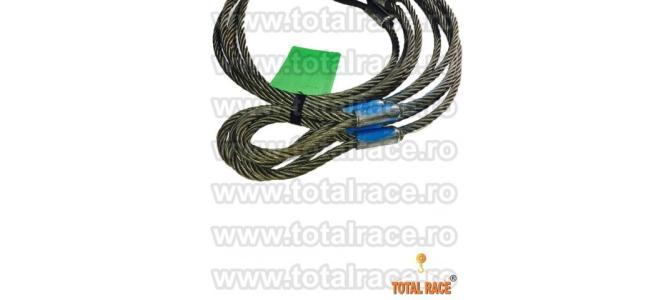 Cabluri de legare cu capete man?onate, cu inim? metalic?