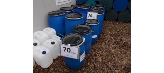 Butoi, bidon, rezervor de apa PVC 100-120 litri , la 70Lei