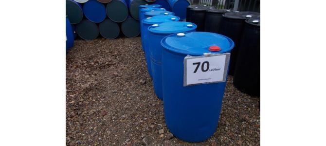 Butoi, bidon, PVC 220 litri la Oradea la 70Lei