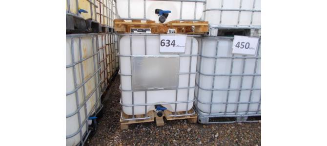 Ibc NOU rezervor  cub 1000 litri la Oradea la 634 Lei