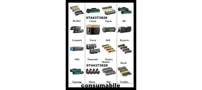 Cartuse imprimante Hp Samsung Lexmark Canon Xerox etc.