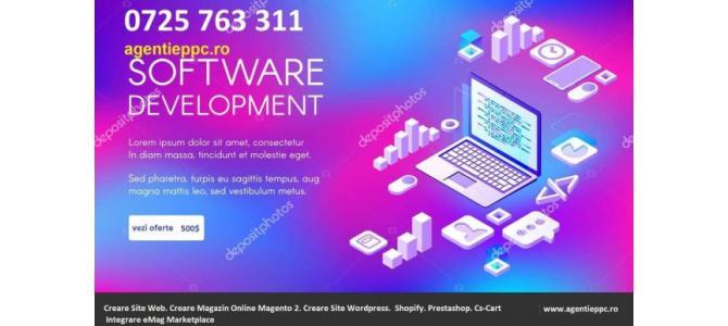 Creare Site Magento 2 - Magazin Online Magento 2