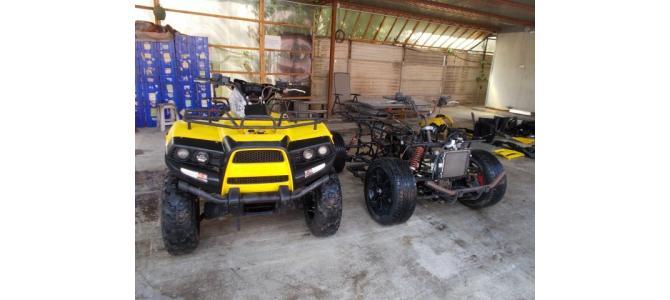 ATV QUAD CECTEK variante cu rulote