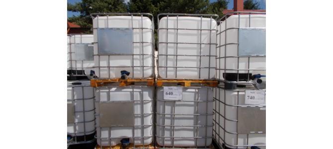 Ibc NOU bazin de apa  cub 1000 litri, 640 Lei+TVA