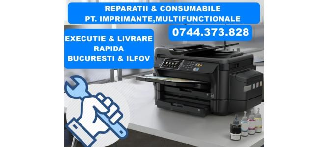 Reparatii imprimante Epson EcoTank cu CISS , in Bucuresti