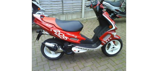 scooter peugeot 206