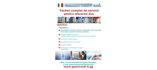 contabilitate, imobiliare, infiintari societati comerciale,fonduri europei