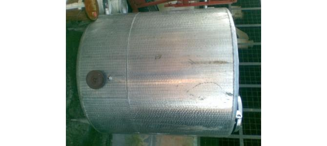 Vand bazin de inox ,3000l,cu agitator