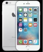 Vand Iphone 6 plus 16gb,silver,fata este pe negru