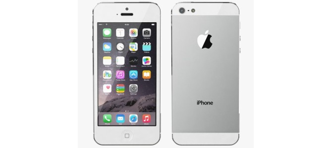 Vand Iphone 5 Silver 380 lei