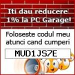 DONEZ Gratuit Cupon Reducere / Voucher  PC GARAGE  MUD1JS7E