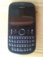 Vand Nokia 201 Asha Negru DEFECTA PLACA de BAZA Pret 55 Lei