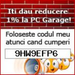 VOUCHER CUPON DE REDUCERE PC GARAGE 2019: 9HW9EFP6