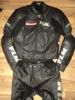 costum moto FLM POLO greyhound racing ,piele perforata