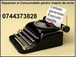 Service si consumabile masini de scris 0744373828