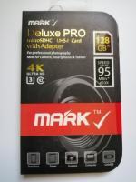 Vand MicroSDHC Mark Deluxe Pro 128GB + Adaptor SD NOU SIGILAT Pret 89 Lei