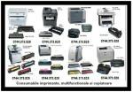 Cartuse imprimante, multifunctionale, copiatoare si faxuri