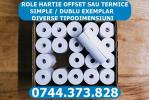 Role hartie termica si offset in orice tipodimensiune.