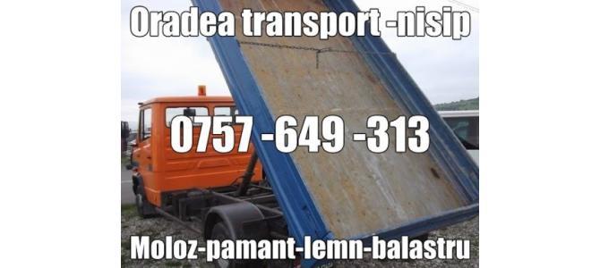 Transport Nisip Pietris Moloz Pamant Oradea