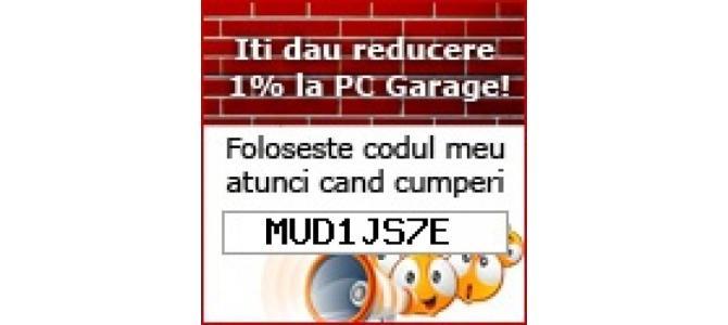 DONEZ Gratuit Cupon Reducere / Voucher  PC GARAGE  MUD1JS7E