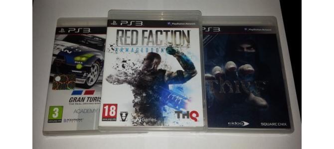 Vand 3 jocuri PS3