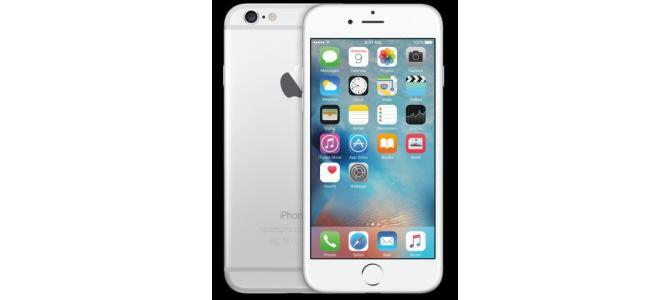 Vand ,schimbIphone 6 plus 16gb,silver,fata este pe negru