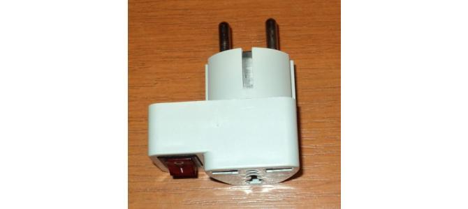 adaptor priza universala cu intrerupator