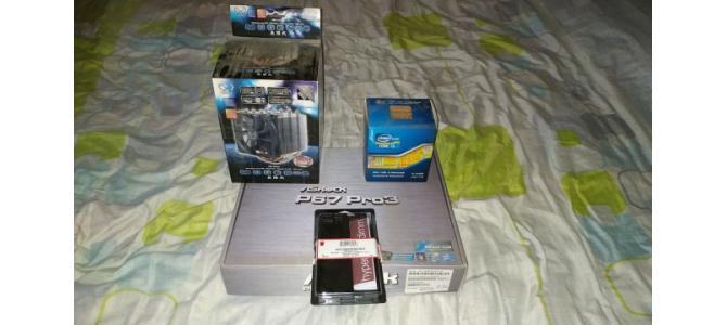 Kit 2500K /Asrock P67 Pro3 /4X 4Gb Kingston HX 1600MH CL9