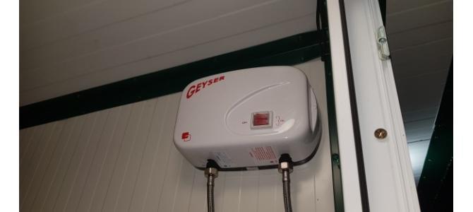 WC  mobil! Dublu cu usa termopan nou si in Rate