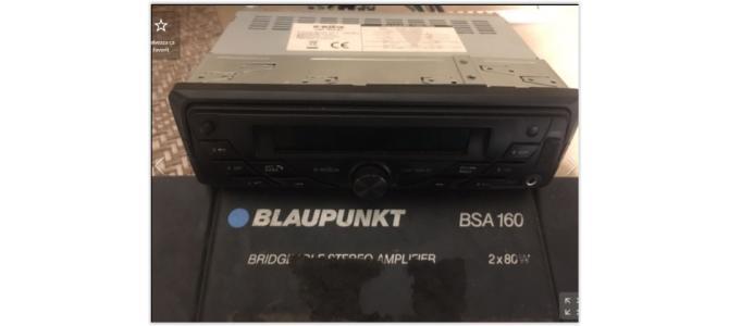 Media Player Auto cu Bluetooth si aplificator Blaupunkt