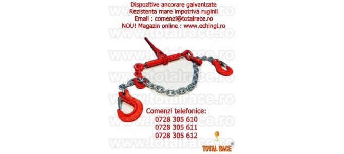 Dispozitiv complet lant ancorare galvanizat