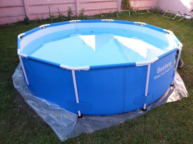 Vand piscina cu cadru metalic best way 3m 0 8m 7138231 for Piscina best way